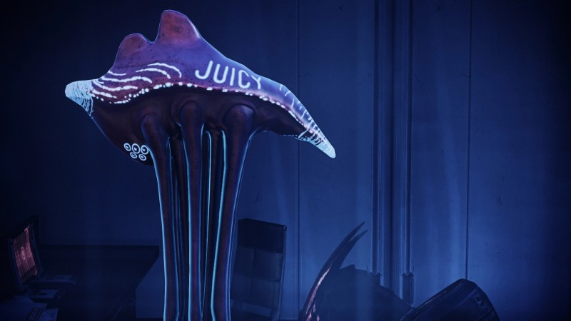 """New Mass Effect Legendary Edition Mod Gives The People What They Want, """"Juicy"""" Sexy Hanar"""