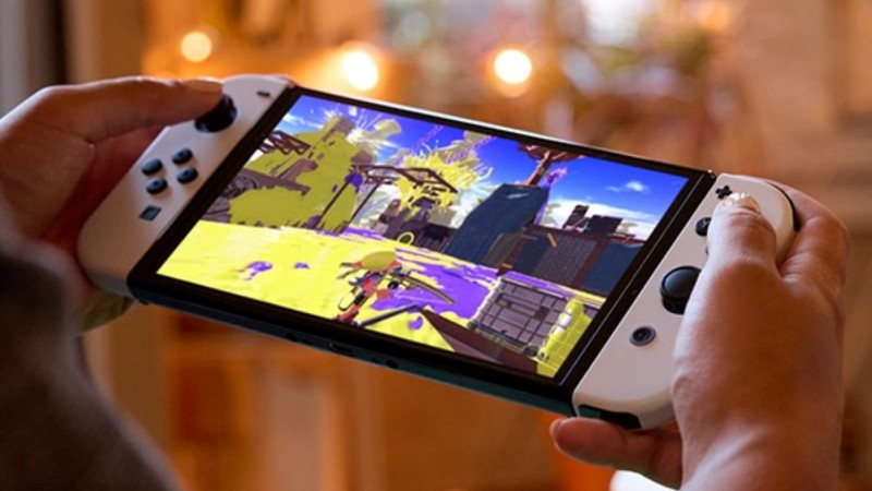 Nintendo Switch OLED Announced With Vibrant 7-Inch Screen, 64GB Of Storage