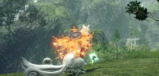 Okami's Amaterasu is coming to Monster Hunter Rise
