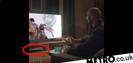 PS5 ad features upside down console – is deleted for its crime