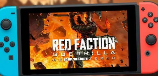 Red Faction Guerrilla Switch Review: Get your ass to Mars