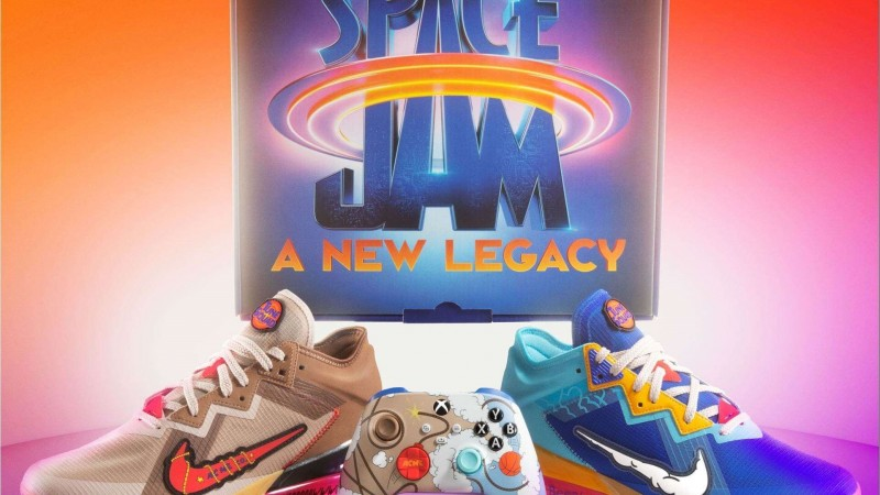 Xbox And Nike Team Up For Exclusive New Space Jam Shoes And Companion Controller