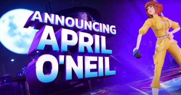 April O'Neil fights CatDog in Nickelodeon's All-Star Brawl