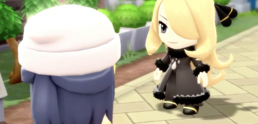 Chibi Cynthia, please destroy me when I pick up Pokémon Brilliant Diamond and Shining Pearl