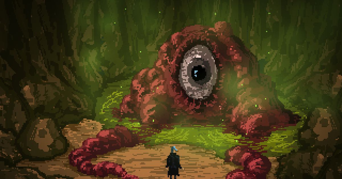 Death Trash is a gutsy take on old-school RPGs, but maybe play it next year