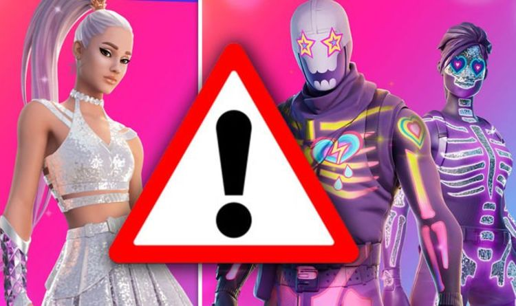 Fortnite Ariana Grande server warning: Login at these times or risk missing out