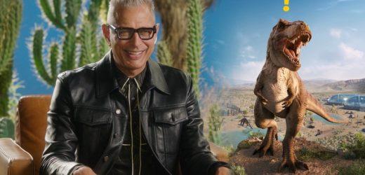 Jeff Goldblum Returns To Chat About Jurassic World Evolution 2