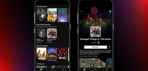 Netflix begins testing mobile games with two Stranger Things titles