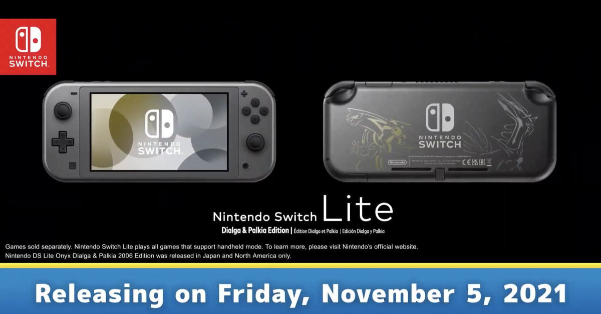Pokémon Brilliant Diamond and Shining Pearl are getting a Nintendo Switch Lite