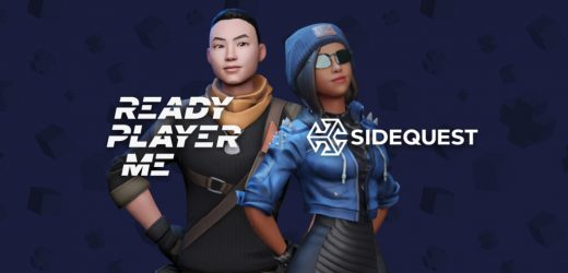 SideQuest Teams Up With Cross-Platform Avatar Creator Ready Player Me