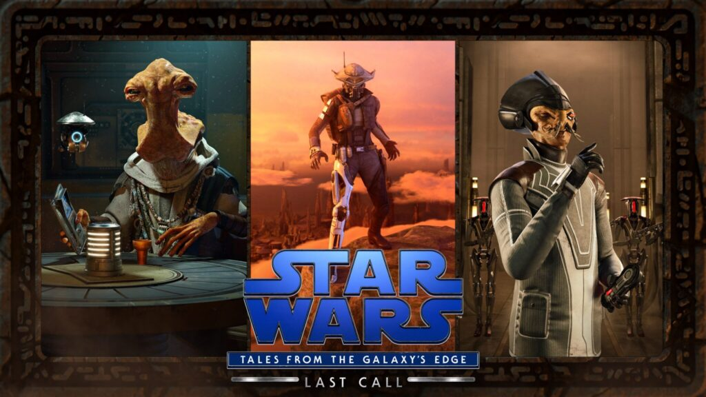 Teaser Trailer Lands for Part 2 of Star Wars: Tales from the Galaxy's Edge