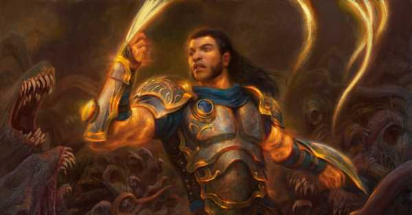 They found a Superman to play Gideon in the Magic: The Gathering animated series