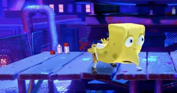 A SpongeBob SquarePants meme made it into Nickelodeon All-Star Brawl