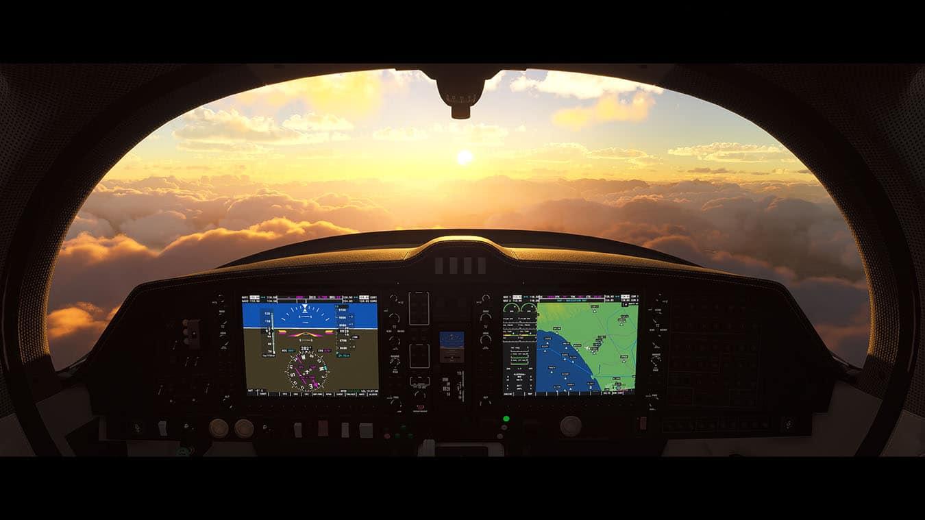 Microsoft Flight Simulator VR Controller Support Coming Mid-November